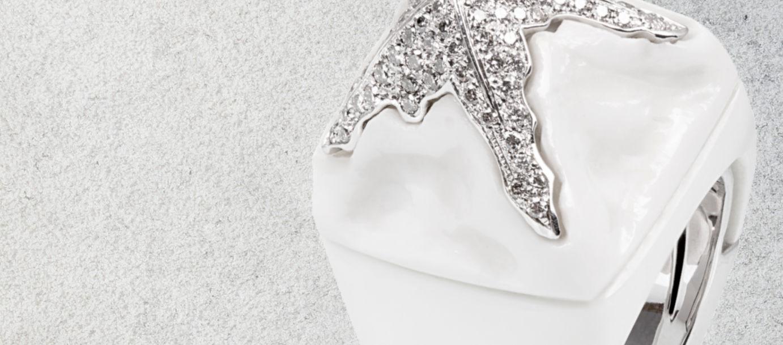 Iceberg Ring - Agate